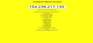 IP LookUp Android App